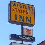 CAWestern States Inn San Miguel Signage
