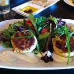 Crab Cakes at Figs