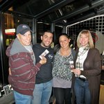 Winners of Flyers tickets with Samantha & Julian