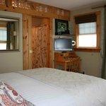 Garden room with flatscreen Cable TV