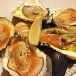 Roasted Oysters + Chili Butter