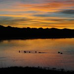 Cochise Lake Birding Area at Sunrise