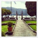 Gardens at villa bossi , beautiful location for wedding ceremony
