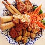 Krua Thai Chefs Special Platter