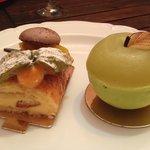 Roulé à l'orange et pomme verte