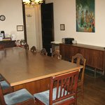 Guest dining room and cooking facilities
