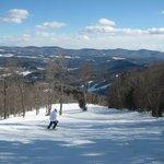 Skiing at Sugarbush - Birch Run