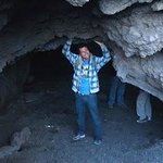 Cavern in the lava flow