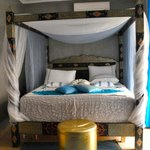Beautifully decorated and extremely comfortable turquoise room