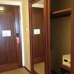 armário na entrada...