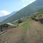 Marampata on trail to Choquequirao