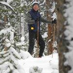 Skiing at Grand Lake Nordic Center