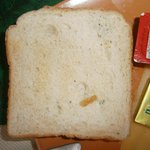 beschimmelde toast