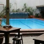 the pool in a very good condition