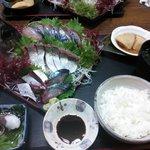 関サバ定食