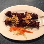 beef satay appetizer