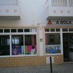 The front of A Bola.