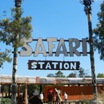 Totems to the Safari Station