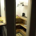 mini cozinha do quarto