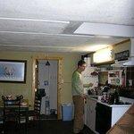 Inside the Alyeska Hostel