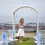 Beach Garden Wedding