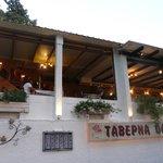 Taverne Olympia à Zia, nourriture et service excellent!