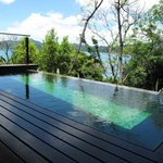 In-room plunge pool