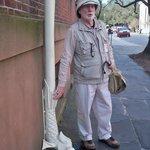 Mr Higgins showing the artistic flair of Savannah
