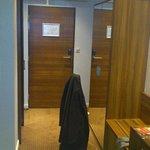 Eingangsbereich in das Zimmer