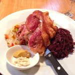 boneless pork knuckle (smaller serve)