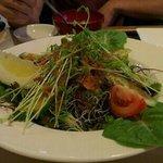 seaweed salad, nice!