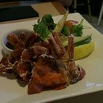 soft shell crab, only $10 n it's good!