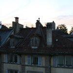 Vue de le terrasse de la chambre