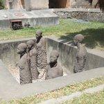 Slave memorial in Stone Town