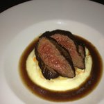 The delicious Venison, a must have!