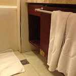 poorly maintained bathroom
