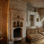 Fireplace - Love Valley room
