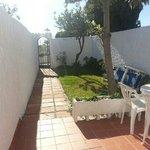 our private garden.