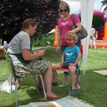 Face Painting at our summer fun day