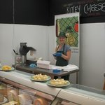 Come down and have a nibble at our West Country cheese counter