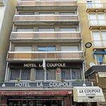 Front view Hotel La Coupole. Lourdes.
