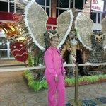 Llegando para comenzar mis vacaciones fabulosas en Aruba