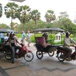 Stadtrundfahrt mit einem Tuktuk