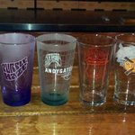 Pint Night Glasses