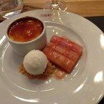 """Rhubarb & Custard"""