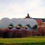 Villeneuve d'ascq Parc du LaM, Sculpture Richard Deacon, Between (rectificatif)