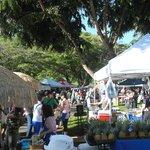 University Farmer's Market, short bus ride.