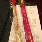 Cute chopsticks - Siam Thai's giveaways to commemorate the first few weeks