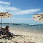 Praia Apaga Fogo - Fica nos fundos do hotel, essa é só dos hospedes