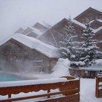 Pool and sauna area